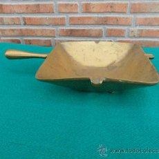 Antigüedades: CENICERO DE BRONCE. Lote 37866164