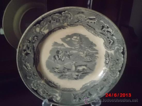 Plato de ceramica antigua de cartagena valarin comprar - Platos de ceramica ...