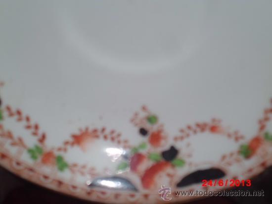 Antigüedades: PLATOS DE PORCELANA CHINA - Foto 2 - 37870249
