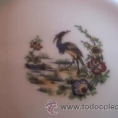 Antigüedades: JUEGO DE 5 PLATOS DE POSTRE T& V LIMOGES FRANCE.. Lote 37877476
