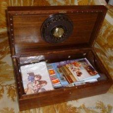 Antigüedades: CAJA DE CAOBA. Lote 37881444