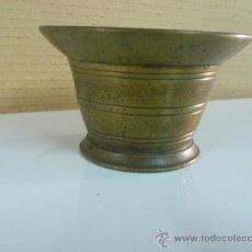 Antigüedades: ANTIGUO MORTERO ALMIREZ 7,5 X 12 CM.. Lote 37884773