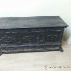 Antigüedades: EXCELENTE ARCA CATALANA SIGLO XVIII ,ES DE NOVIA. Lote 37983106