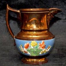 Antigüedades: ANTIGUA JARRA DE REFLEJOS (BRISTOL) EN . FINALES SIGLO XIX. Lote 38119290