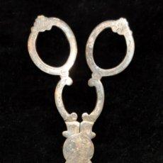 Antigüedades: ANTIGUAS PINZAS DE REPOSTERIA EN PLATA DE FINALES DEL SIGLO XIX. Lote 39973976