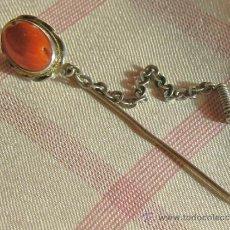 Antigüedades: ANTIGUA AGUJA DE CORBATA - ALFILER O PIN. Lote 37970331