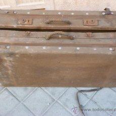Antigüedades: MALETA ANTIGUA. Lote 37943127