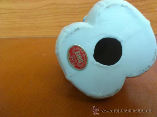 Antigüedades: Pareja de figuras Japonesas antiguas en porcelana fina mate/brillante ( EIHO ) AÑOS 60 - Foto 15 - 37957758