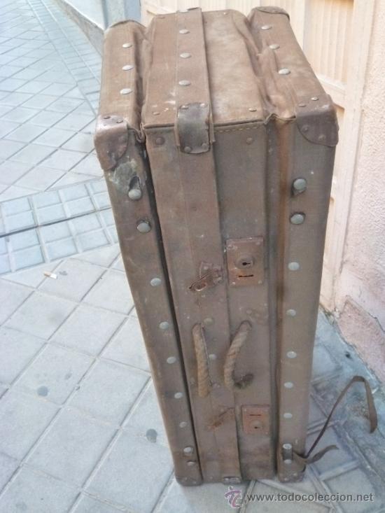 Antigüedades: MALETA ANTIGUA - Foto 4 - 37943127