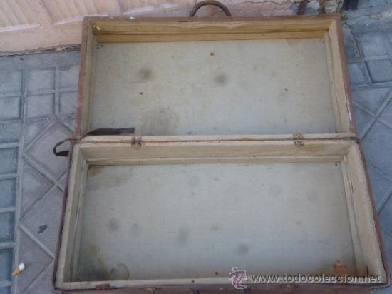 Antigüedades: MALETA ANTIGUA - Foto 2 - 37943127