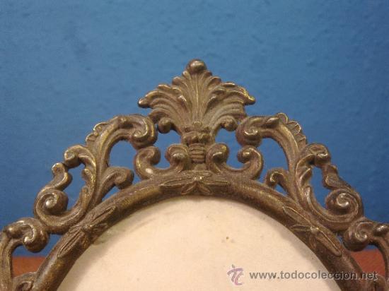 Antigüedades: Marco Antiguo Bronce - Foto 3 - 38985679