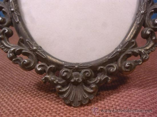 Antigüedades: Marco Antiguo Bronce - Foto 4 - 38985679