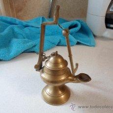 Antigüedades: LAMPARA DE ACEITE. Lote 37953491