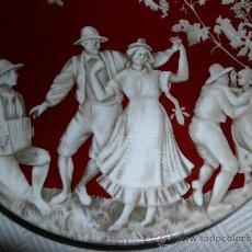 Antigüedades: PLATO DE PORCELANA SANGO MADE IN SPAIN. Lote 37970861