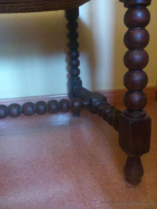 Antigüedades: Silla antigua castellana de grandes dimensiones - Foto 9 - 38009802