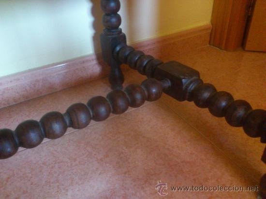 Antigüedades: Silla antigua castellana de grandes dimensiones - Foto 8 - 38009802