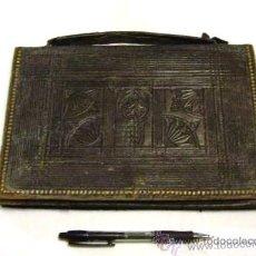 Antigüedades: ANTIGUA CARTERA DE MANO DE HOMBRE O MUJER. Lote 28526566