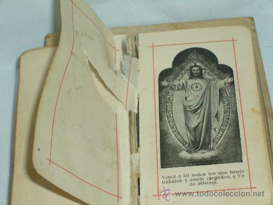 Antigüedades: DEVOCIONARIO , MANUAL EUCARISTICO NACAR - Foto 7 - 38035983