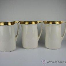 Antigüedades: 3 GRANDES JARRAS EN PORCELANA ALEMANA - 'VILLEROY&BOCH - BOSNA' - PRINCIPIOS DEL S.XX. Lote 38045020