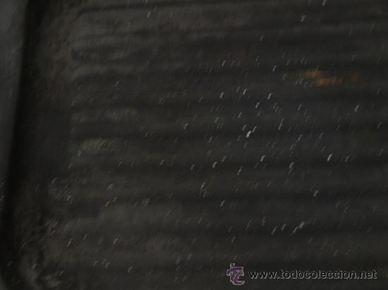 Antigüedades: SARTEN ASADORA-TOSTADORA RECTANGULAR.28 X 21 CM SIN ASAS. METAL ESMALTADO EN NEGRO. VER FOTOS Y DESC - Foto 3 - 38046093