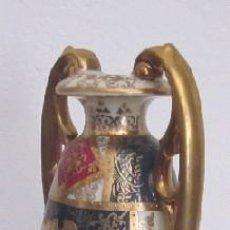 Antigüedades: JARRON ANFORA DE PORCELANA VIENESA. Lote 211830727