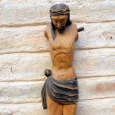 Antigüedades: ANTIGUO CRISTO DE MADERA.. Lote 46169203