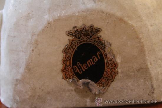 Antigüedades: ANTIGUA ESCULTURA TALLA DE BUSTO CHINO EN ALABASTRO - Foto 3 - 38104186