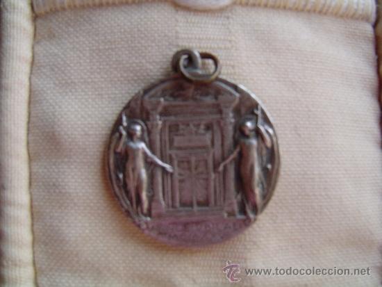Antigüedades: Medalla metal PIVS .XI - PONT. MAX - Foto 2 - 38110529