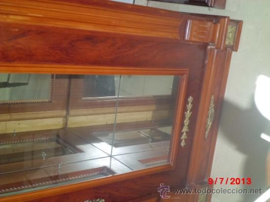 Antigüedades: VITRINA DE ESTILO IMPERIO - Foto 4 - 38110191