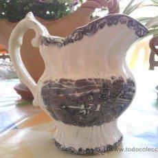 Antigüedades: ANTIGUA JARRA DE LOZA DE CARTAGENA. Lote 38141587