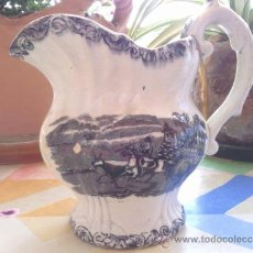 Antiquités: ANTIGUA JARRA DE LOZA DE CARTAGENA, PRECIOSA. Lote 38141721
