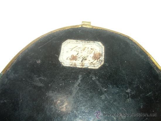 Antiquitäten: ANTIGUO Y BONITO ESCAPULARIO BORDADO EN RELIEVE CON HILO DE ORO...SIGLO XIX. - Foto 5 - 38170908