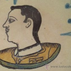 Antigüedades: PLATO PUENTE DEL ARZOBISPO CON BUSTO GENERAL FRANCO DE MILITAR , MARCADO. Lote 38177122