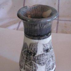 Antigüedades: FLORERO EN ALABASTRO PULIDO.. Lote 38233953