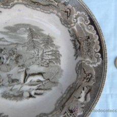 Antigüedades: ANTIGUO PLATO CERÁMICA DE CARTAGENA. Lote 38352592
