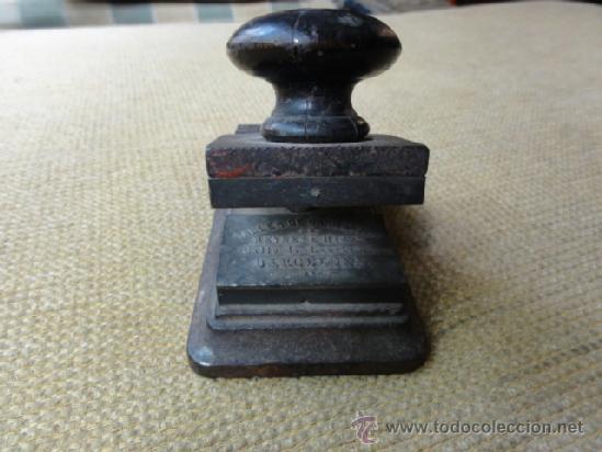 Antigüedades: SELLO SECO - Foto 2 - 38227370