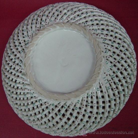 Antigüedades: Plato de cerámica de cordoncillo - Foto 3 - 38254812
