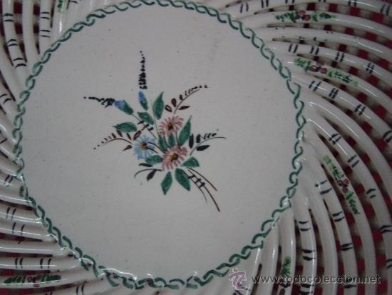 Antigüedades: Plato de cerámica de cordoncillo - Foto 4 - 38254812