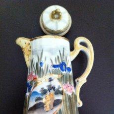 Antigüedades: TETERA JAPONESA AÑOS 40 FIRMADA. Lote 38262118