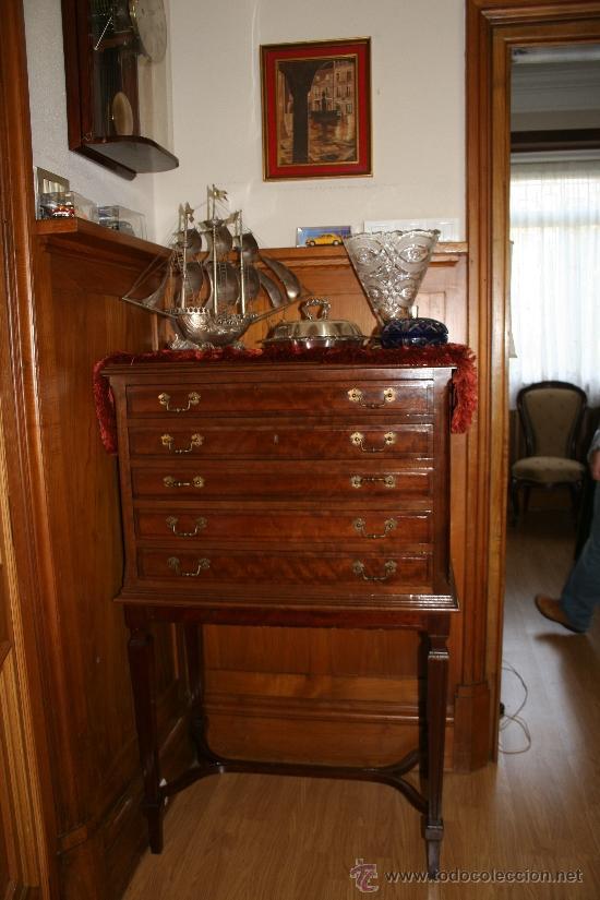 Mueble cubertero comprar muebles auxiliares antiguos en for Muebles antiguos todocoleccion