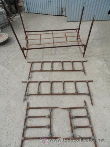 Antigua cama plegable de hierro de ni os peque comprar camas antiguas en todocoleccion - Camas de hierro antiguas ...