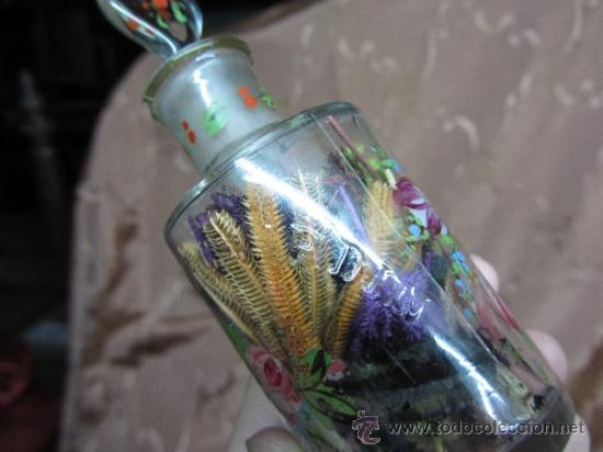 Antigüedades: Precioso juego de 4 frasquitos de perfume HOUBIGANT CHARDIN / Hacia 1845 - Foto 10 - 38210429