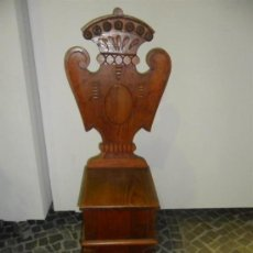 Antigüedades: SILLA ALTA RUSTICA. Lote 38292581