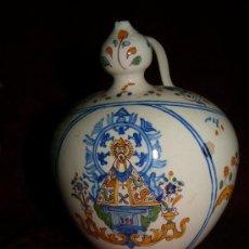 Antigüedades: BOTIJO TALAVERA CON MARCAS DE RUIZ DE LUNA. Lote 38298092