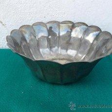 Antigüedades: FRUTERO DE METAL PLATEADO. Lote 38298923