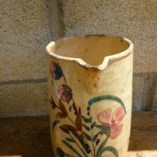 Antigüedades: JARRA ANTIGUA CERAMICA MANISES. Lote 38305569