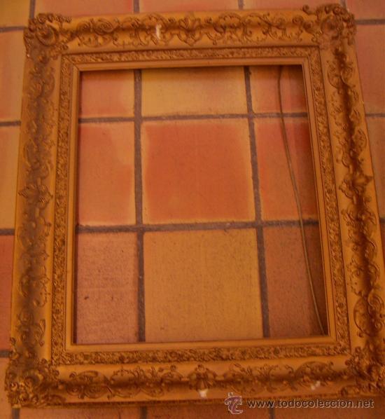 marco de madera antiguo muy grande - Comprar Marcos Antiguos de ...