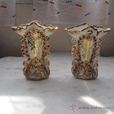Antigüedades - DOS JARRONES ISABELINOS - 38339156