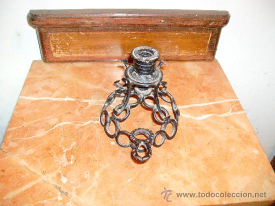 Antigüedades: portavelas. - Foto 2 - 38364238