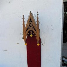 Antigüedades: CAPILLA DE MADERA GOTICA. Lote 38361353